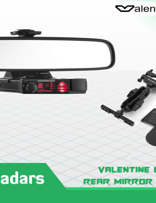 rear mirror mount bracket for valentine one radar detector kiwi radars - Valentine One Mount