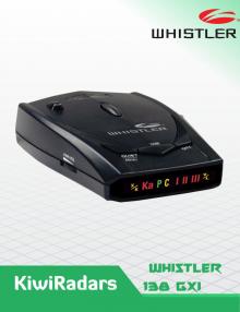 Whistler GT-138Xi LASER RADAR DETECTOR