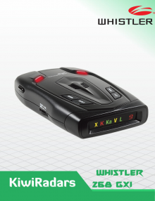 Whistler GT-268Xi High Performance Laser Radar Detector