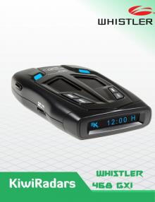 Whistler GT-468 GXi LASER RADAR detector