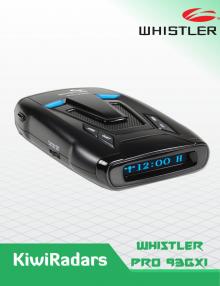 Whistler Pro 93 GXI LASER RADAR Detector