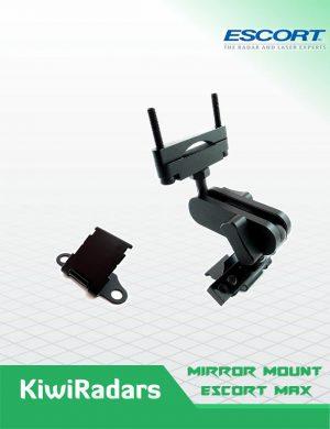 Rear mirror mount Escort Max (series) Radars