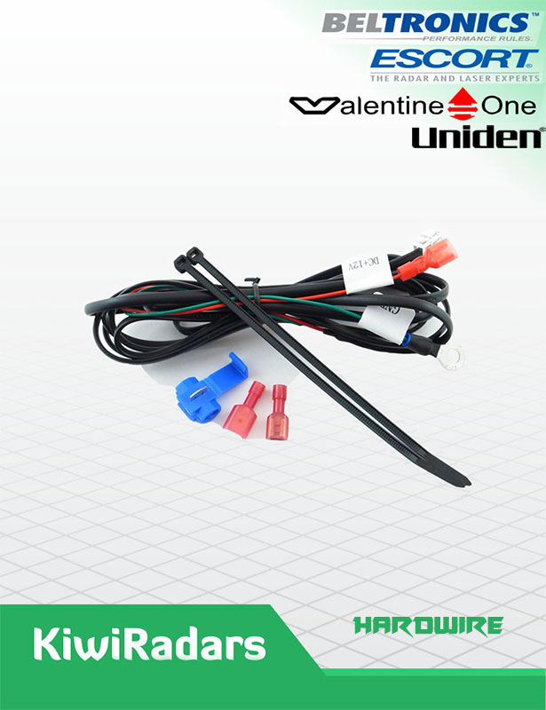 Hardwire kit Escort Uniden Valentine