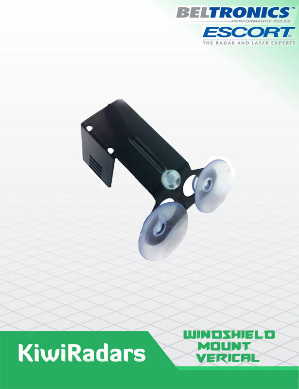 Windshield mount Escort Radars Vertical