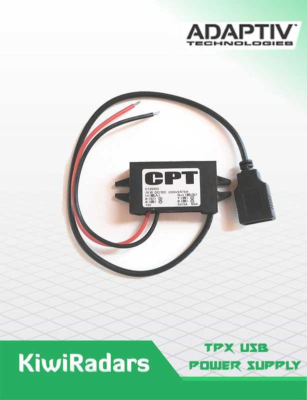 TPX 12V USB Power Supply A-05-05